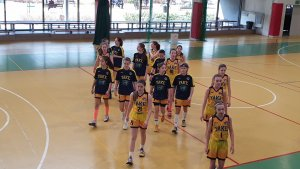 Young Angels Košice 2006 Yellow - Wisla Basket Cup 2019
